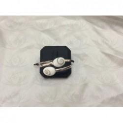 SB 0002 Bracelet Shiva Eye Shell Silver