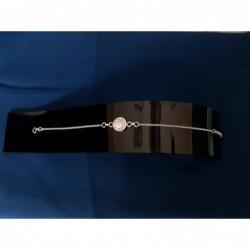 SB 0088 Bracelet Shiva Eye Shell Silver
