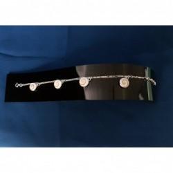 SB 0096 Bracelet Shiva Eye Shell Silver