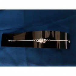 SB 0143 Bracelet Shiva Eye Shell Silver