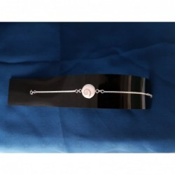 SB 0145 Bracelet Shiva Eye Shell Silver