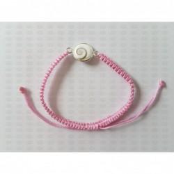 SB 0156 Bracelet Shiva Eye Shell Silver