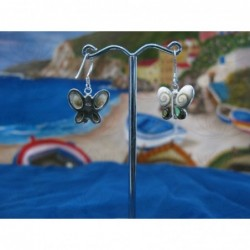 LE 0086gr Earrings Shiva Eye Shell Silver