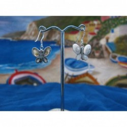 LE 0086ma Earrings Shiva Eye Shell Silver