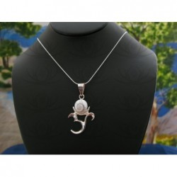 SP 0039 Pendant Shiva Eye Shell Silver