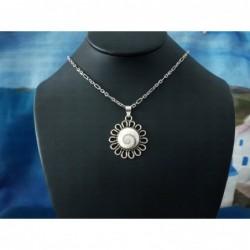 SP 0094 Pendant Shiva Eye Shell Silver