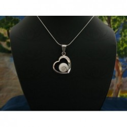 SP 0119 Pendant Shiva Eye Shell Silver