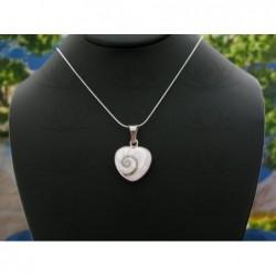 SP 0196 Pendant Shiva Eye Shell Silver
