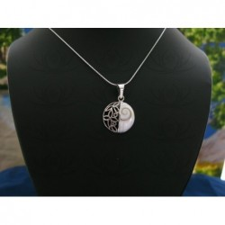 SP 0208 Pendant Shiva Eye Shell Silver