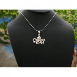 SP 0231 Pendant Shiva Eye Shell Silver