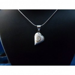 SP 0247 Pendant Shiva Eye Shell Silver
