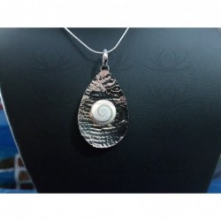 SP 0248 Pendant Shiva Eye Shell Silver