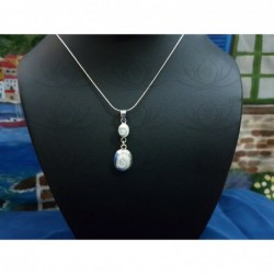 SP 0249 Pendant Shiva Eye Shell Silver