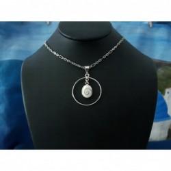 SP 0257o Pendant Shiva Eye Shell Silver