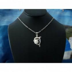 SP 0298 Pendant Shiva Eye Shell Silver