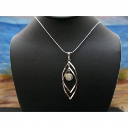 SP 0309 Pendant Shiva Eye Shell Silver