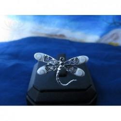 SR 0151 Ring Shiva Eye Shell Silver