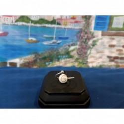 SR 0158 Ring Shiva Eye Shell Silver