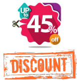 Discount Up to 45%